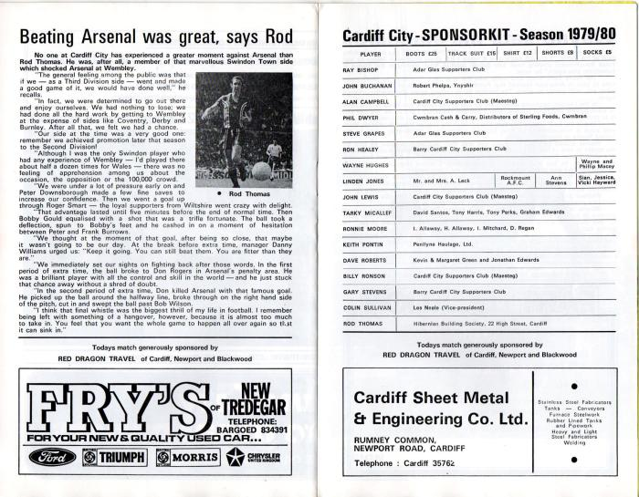 Cardiff programme 5Jan80 8
