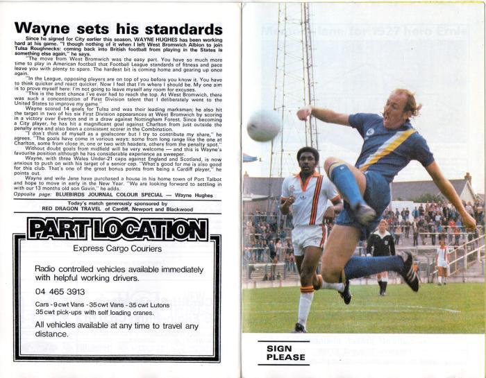 Cardiff programme 5Jan80 9