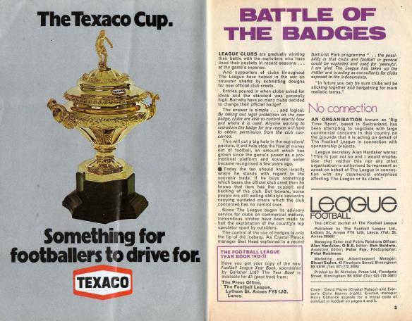 League Review 1972 crests004