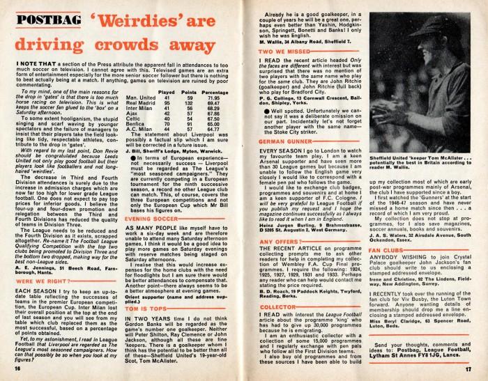 League Review 1972 letters001