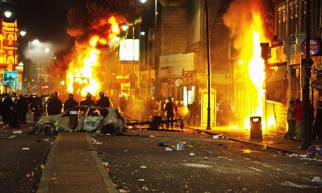Tottenham-Riots