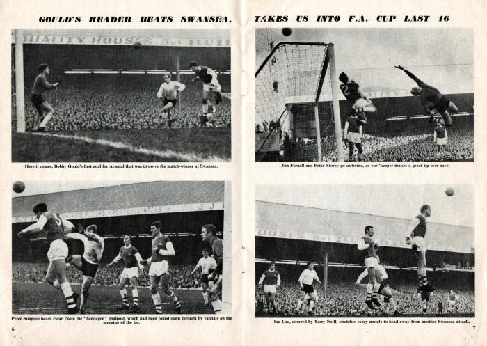 Arsenal v Man Utd 24Feb68 4