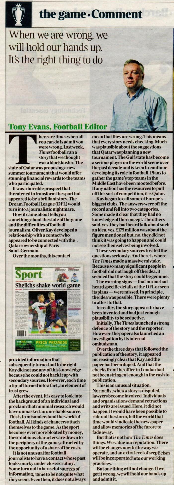 Times apology 18Mar2013