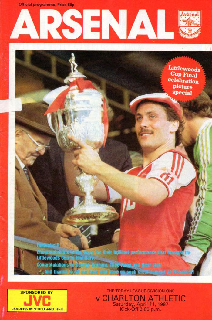 Littlewoods Cup 1987 1