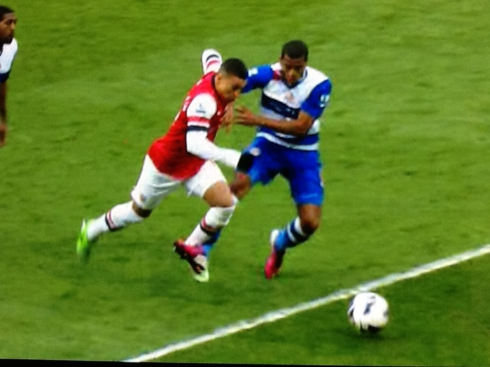 ox penalty v reading