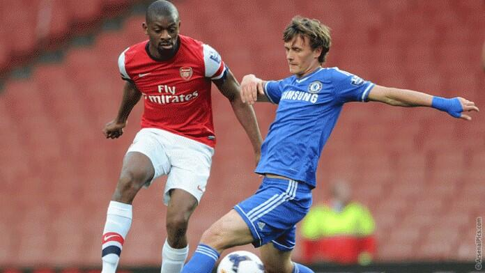 Arsenal's (Like A) New Signing in action yesterday