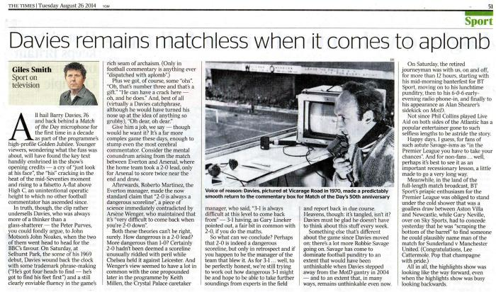 Giles Smith The Times 26Aug14  001