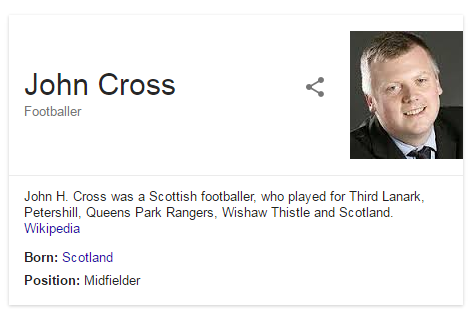 not john Cross